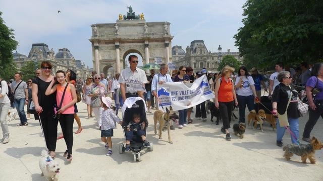 Rassemblement Cani-Citoyen du 8 juin à Paris