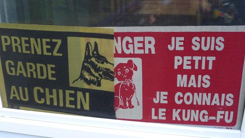 Prenez garde au chien